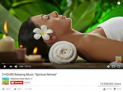 Achtsamkeit mindfulness, Florea Gabriel, Dirk Schumacher, 13 million klicks on YouTube.